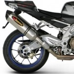 Akrapovic EC Type Approved Dual Slip-on Exhaust for Tuono 1000 07-10