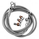 Goodridge Stainless Steel Braided (Front) Brake Lines for CBR600RR 07-10