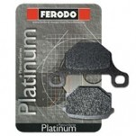 Ferodo Rear Brake Pad Platinum Organic P for S1000RR 09-11