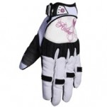 Joe Rocket Women's Heartbreaker Gloves White/Purple