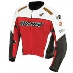 Joe Rocket Men's UFO 2.0 Textile Mesh Jacket Red/Black/White