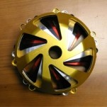 Oberon Vortex Clutch Cover for Ducati Dry Clutches