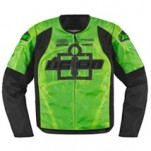 Icon Men's Overlord Type 1 Textile Jacket Green (Closeout)