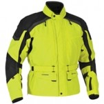 Firstgear Women's Kilimanjaro Textile Jacket DayGlo/Black (Closeout)