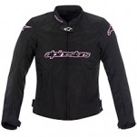 Alpinestars Women's Stella T-GP Plus Air Textile Jacket Black/Pink