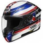 Shoei X-Twelve Reverb TC-2 Helmet White/Blue/Red (Closeout)