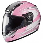 HJC Youth Girl's CL-Y Razz MC-8 Helmet Pink/Gray/Black
