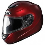 HJC CS-R2 Helmet Solid Wine-Berry