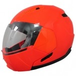 AFX FX-140 HiViz Modular Helmet Safety Orange