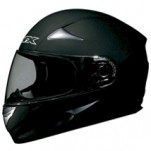 AFX FX-Magnus Big Head Solid Helmet Flat Black
