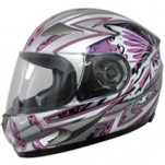 AFX FX-90 Passion Helmet Pink/Silver (Closeout)
