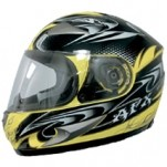 AFX FX-90 W-Dare Helmet Yellow (Closeout)
