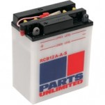 Parts Unlimited Heavy-Duty 12V Battery for SR50 09-11