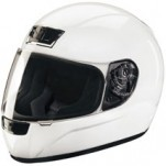 Z1R Phantom Solid Helmet White