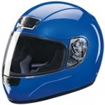 Z1R Phantom Solid Helmet Blue
