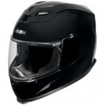 Icon Airframe Solid Gloss Helmet Black