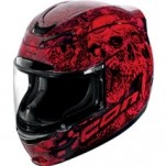Icon Airmada Parahuman Helmet Red