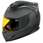 Icon Airframe Ghost Carbon Helmet Black