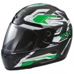Z1R Phantom Frontier Helmet Green/White/Black