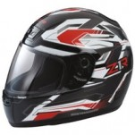 Z1R Phantom Frontier Helmet Red/White/Black