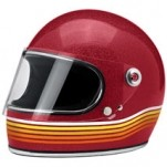 Biltwell Gringo S Spectrum Helmet Red (Closeout)