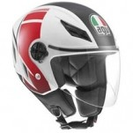 AGV Blade FX Helmet White/Red/Black
