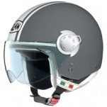 Nolan N20 City Helmet Metal-Gray/White (Closeout)