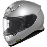Shoei RF-1200 Helmet Solid Metallic-Light-Silver