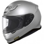 Shoei RF-1200 Solid Helmet Light-Silver