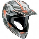 AGV MT-X Helmet Evolution White/Orange