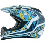 AFX FX-19 Vibe Helmet Blue/Yellow