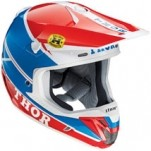 Thor Verge Pro-GP Helmet Blue/Red