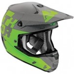 Thor Verge Tach Helmet Gray/Green
