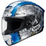 Shoei X-Twelve Kagayama 4 TC-2 Helmet Blue/White/Gray