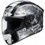 Shoei X-Twelve Kagayama 4 TC-5 Helmet Black/White/Gray