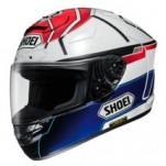Shoei X-Twelve Motegi Marquez TC-1 Helmet White/Blue/Red