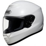 Shoei Qwest Helmet Solid White