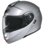 Shoei Neotec Helmet Solid Metallic-Light-Silver