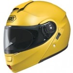Shoei Neotec Solid Helmet Brilliant-Yellow