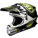Shoei VFX-W Reputation TC-3 Helmet Black/White/Yellow