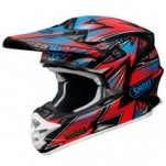 Shoei VFX-W Maelstrom TC-1 Helmet Red/Black/Blue (Closeout)