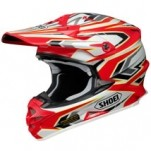 Shoei VFX-W Block Pass TC-1 Helmet Multicolor