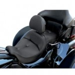 Saddlemen Road Sofa Trike Seat w/ Driver Backrest for FLHTCUTG 09-13 (Closeout)