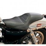 Roland Sands Design Avenger 2Up Seat (w/ Black Perforated Sections) for XL 04-13