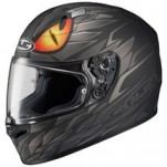 HJC FG-17 Mamba MC-5F Helmet Black/Gray/Orange