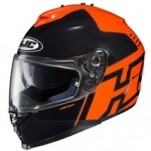 HJC IS-17 Genesis MC-6 Helmet Orange/Black