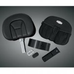 Kuryakyn Plug-N-Go Driver Backrest for GL1800 Gold Wing 01-15