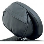 "Drag Specialties ""The Convertible"" EZ Glide II Large Backrest for Solo Seats with Optional EZ Glide Backrest System"