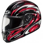 HJC CL-MAX II Atomic Modular MC-1 Helmet Black/Red/White