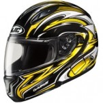 HJC CL-MAX II Atomic Modular MC-3 Helmet Black/Yellow/White